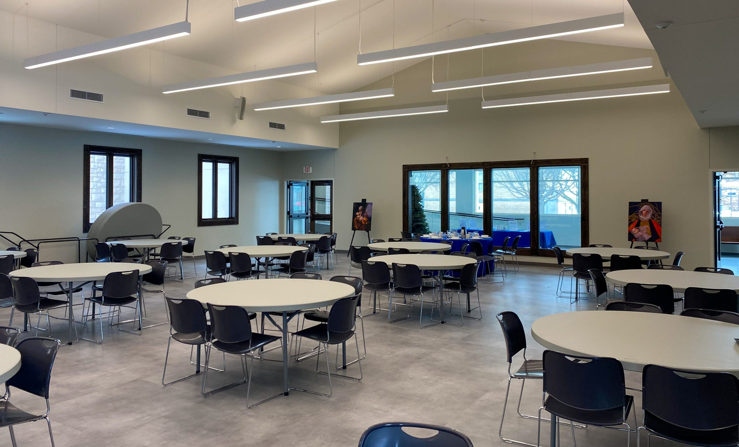 Parish Hall Addition Completed for Church of the Sacred Heart